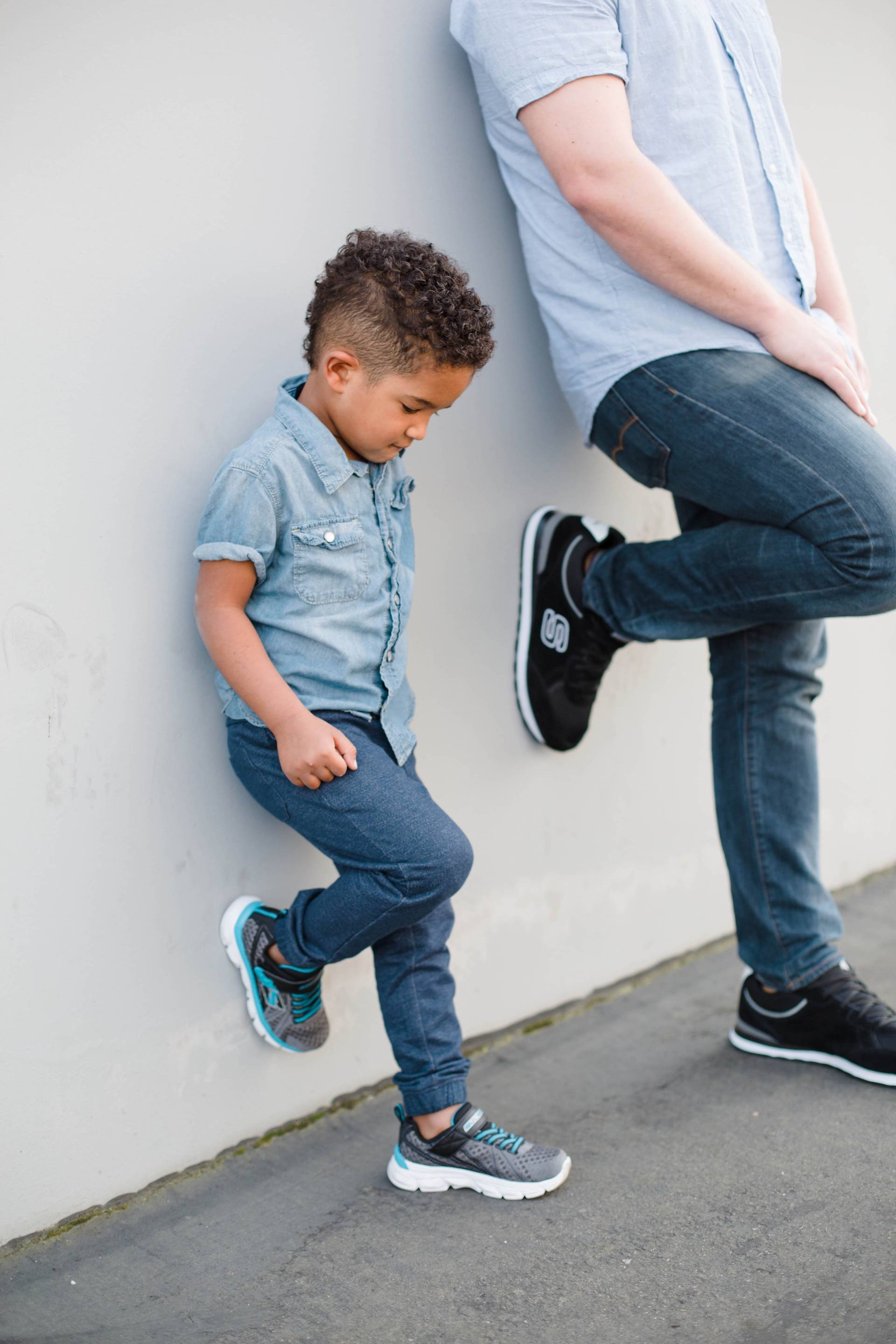 skechers- father and son