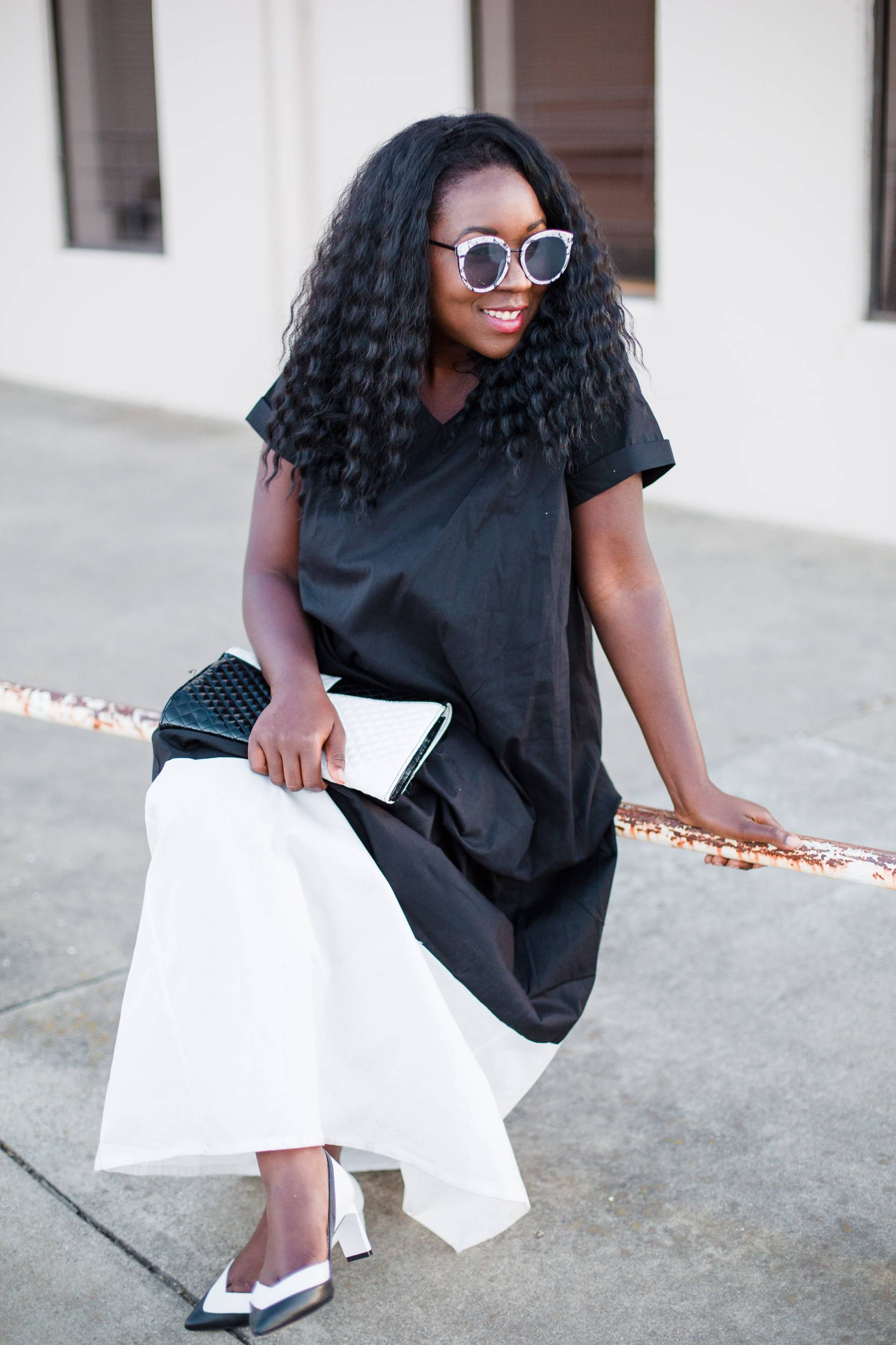 black-white-with-shabby-apple- asos sunnies