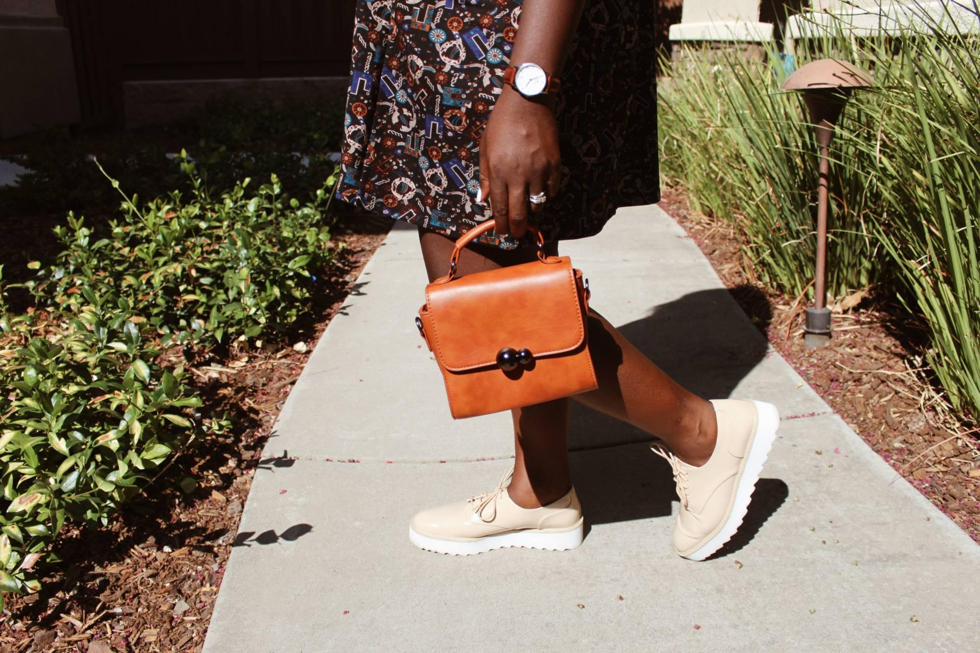fall-color-block-dress- small bags