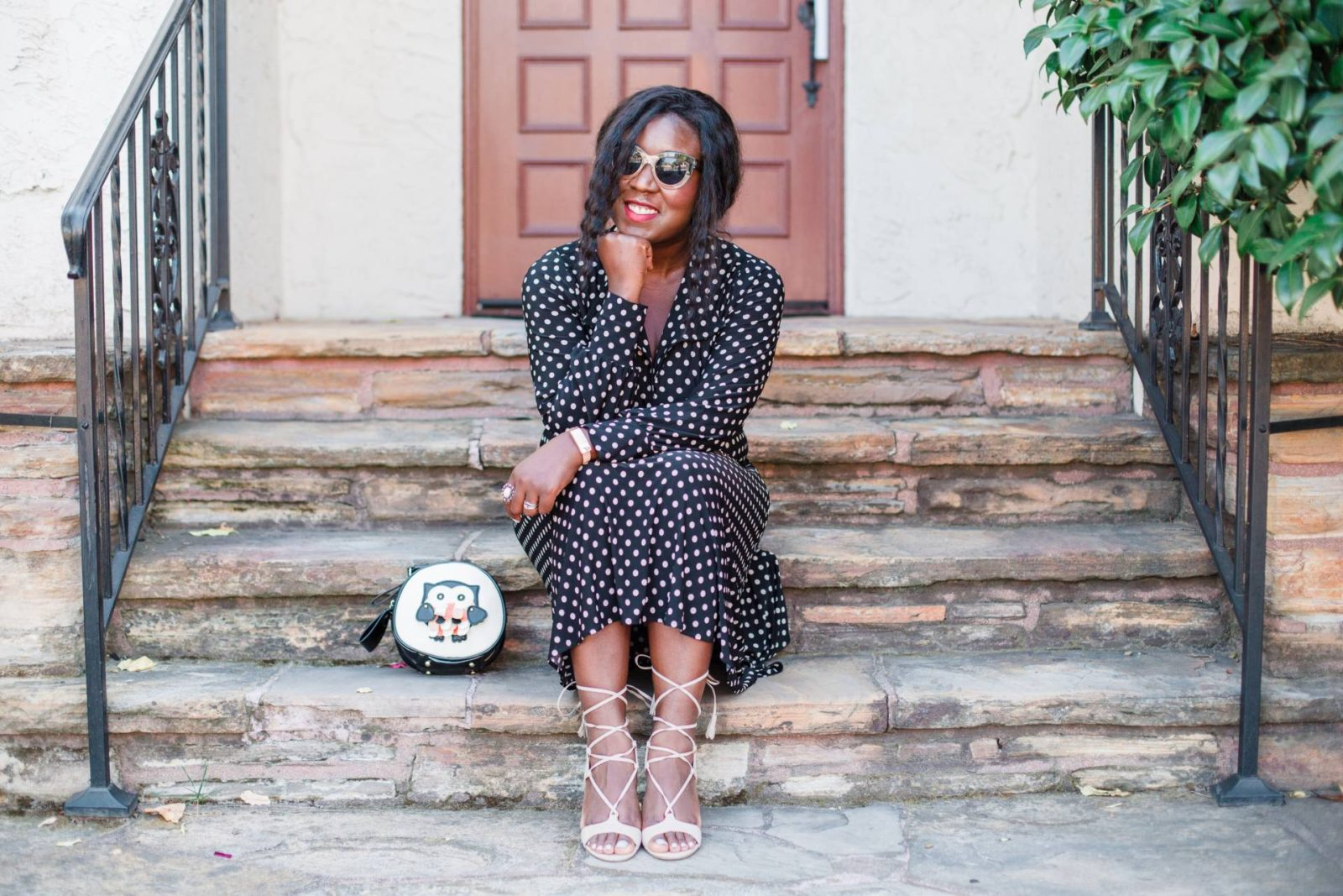 Polka Dot Dress | Statement