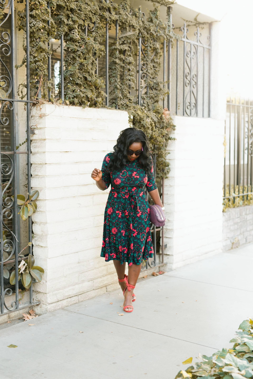 2d97444acf9 ... Karina Dresses floral-dress- VIPME bag