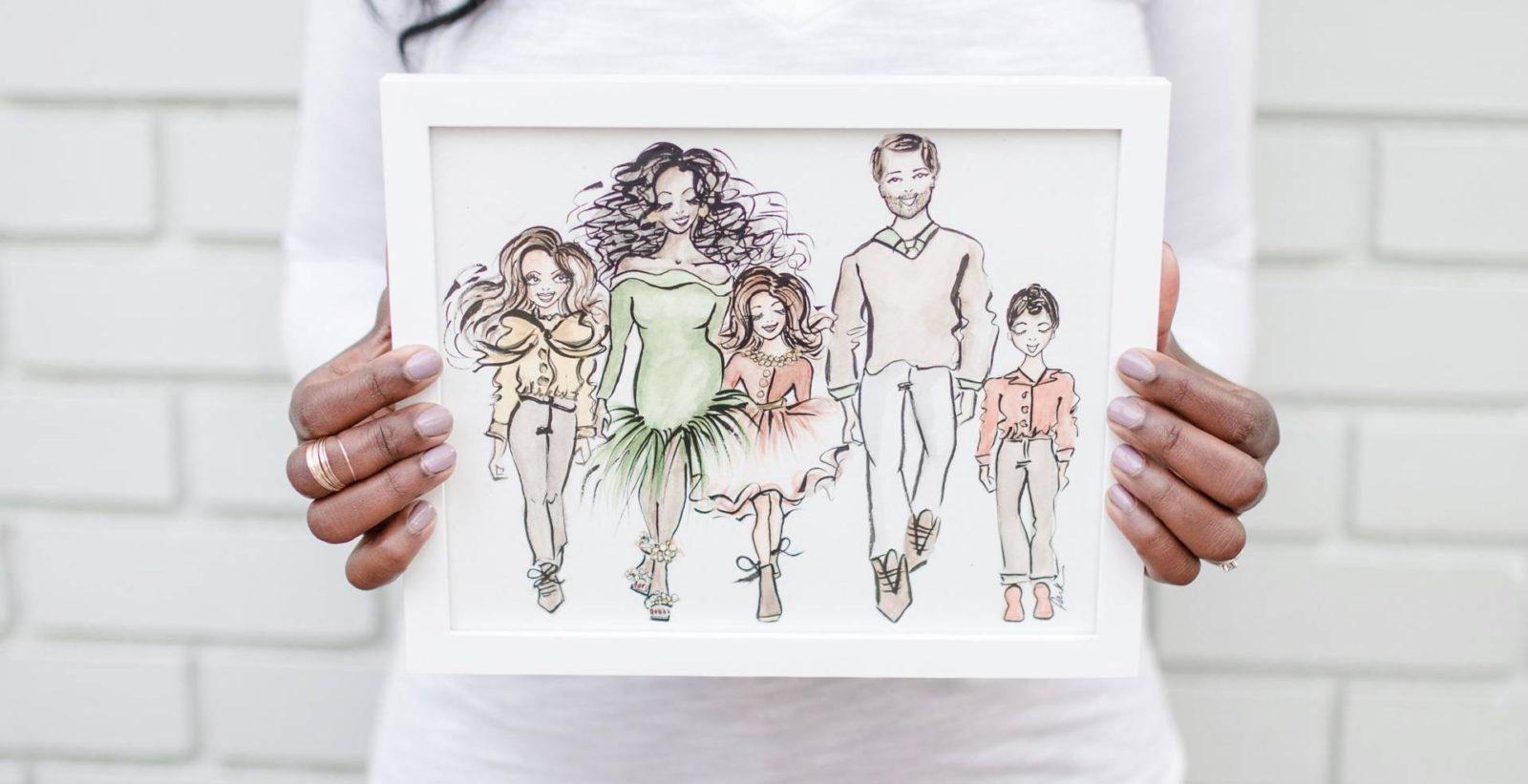 Fashion Art + Giveaway