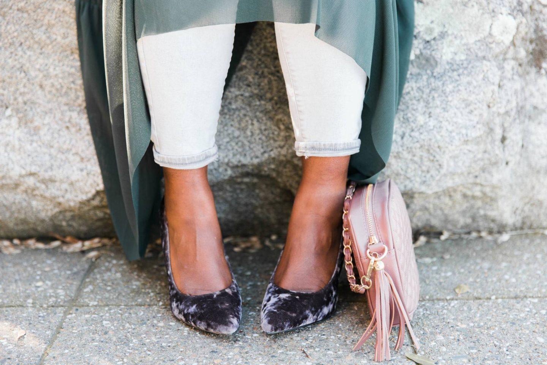 the-mesh-velvet shoes