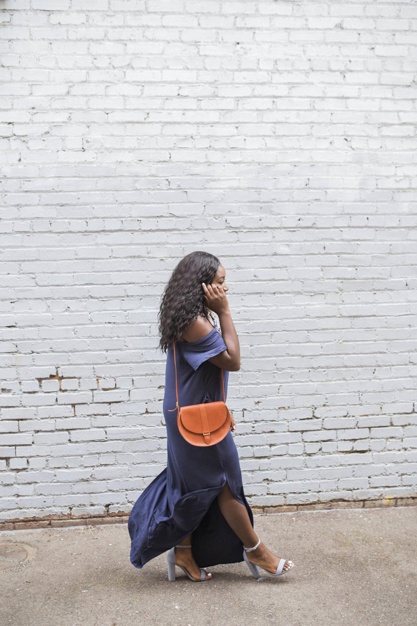 blue-maxi-dress-coffee-date- walk it out
