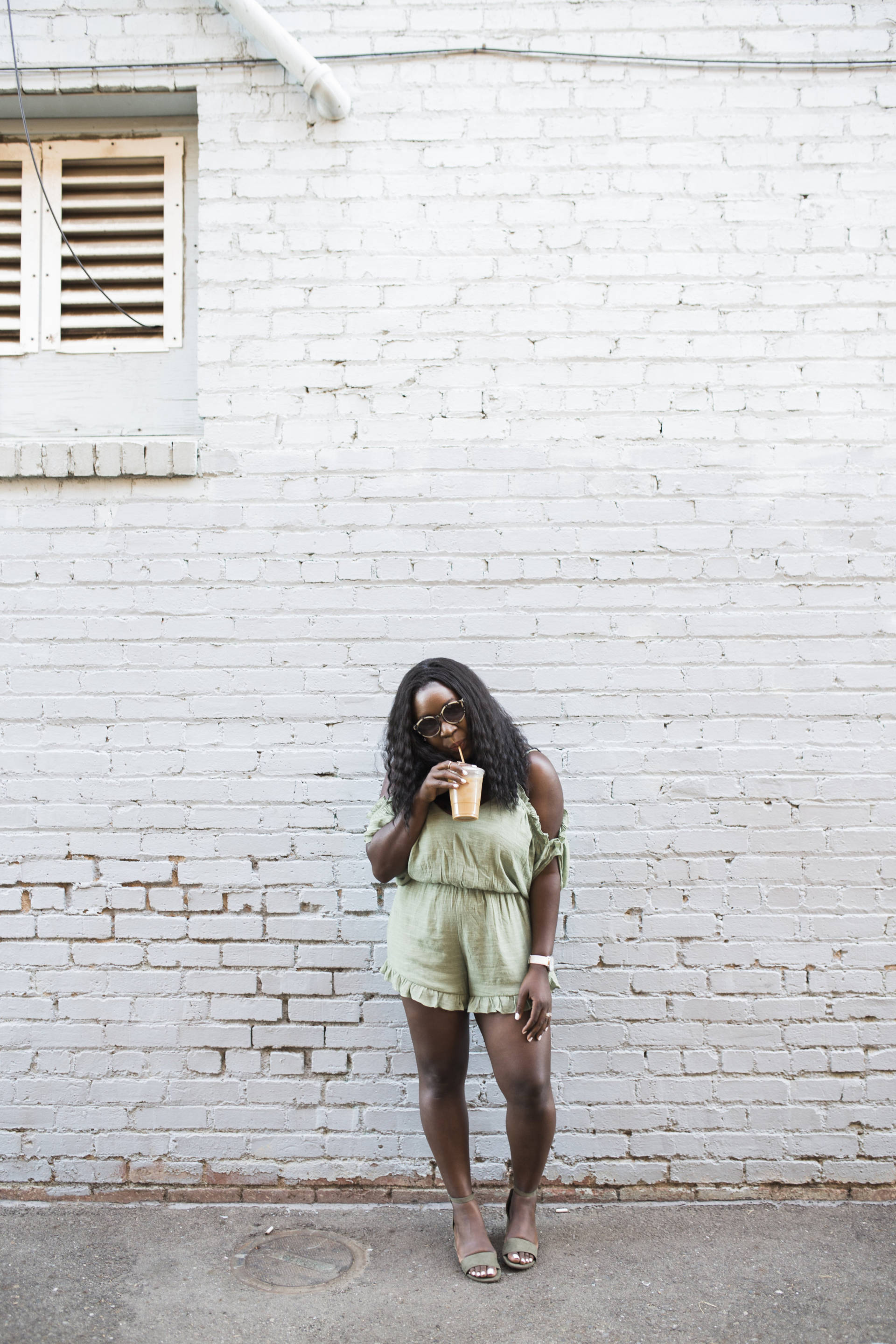 Ruffle Romper + Coffee Date Vol. 4: Life Happenings and Summer Fashion Inspiration