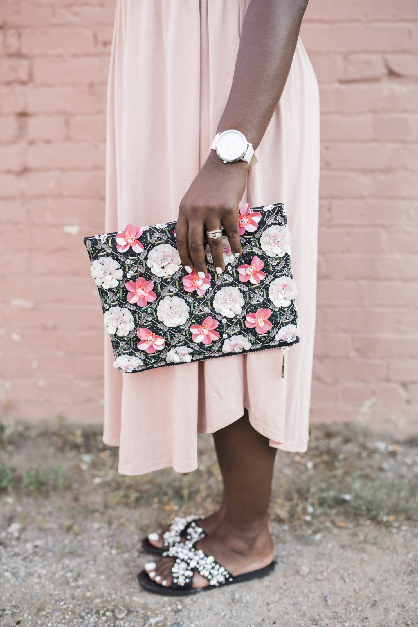 Pink Ruffle Dress + Accessories Needed To Elevate Your Summer Wardrobe On A Budget!