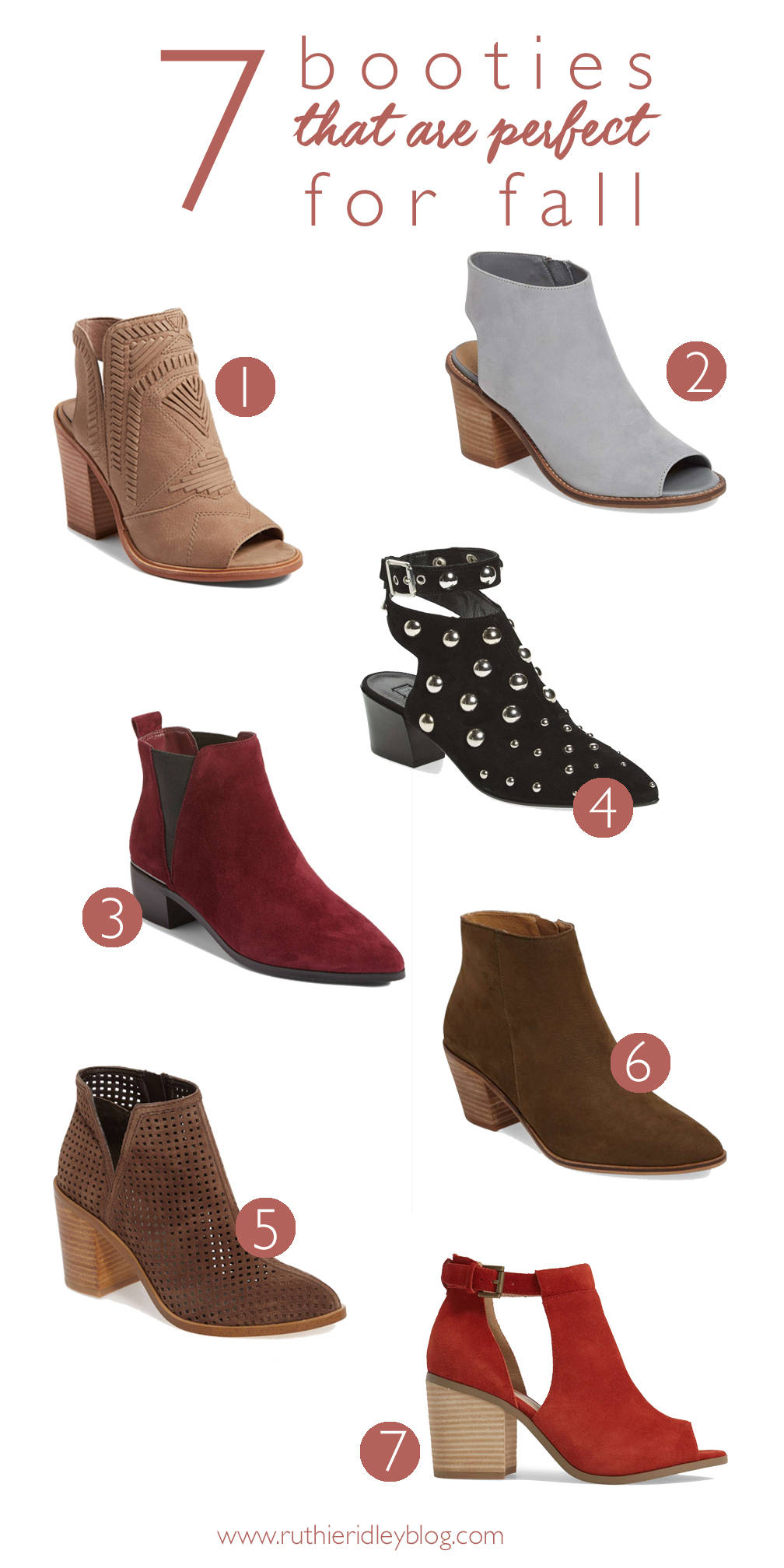 7 Booties Perfect For Fall