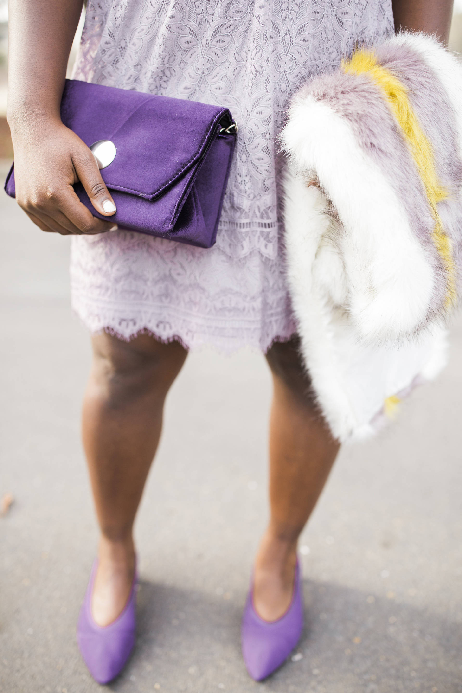 Pantone Color Of The Year: Ultra Violet.... You don't have to love the color to rock it with confidence! Different shades of purple can be absolutely beautiful.