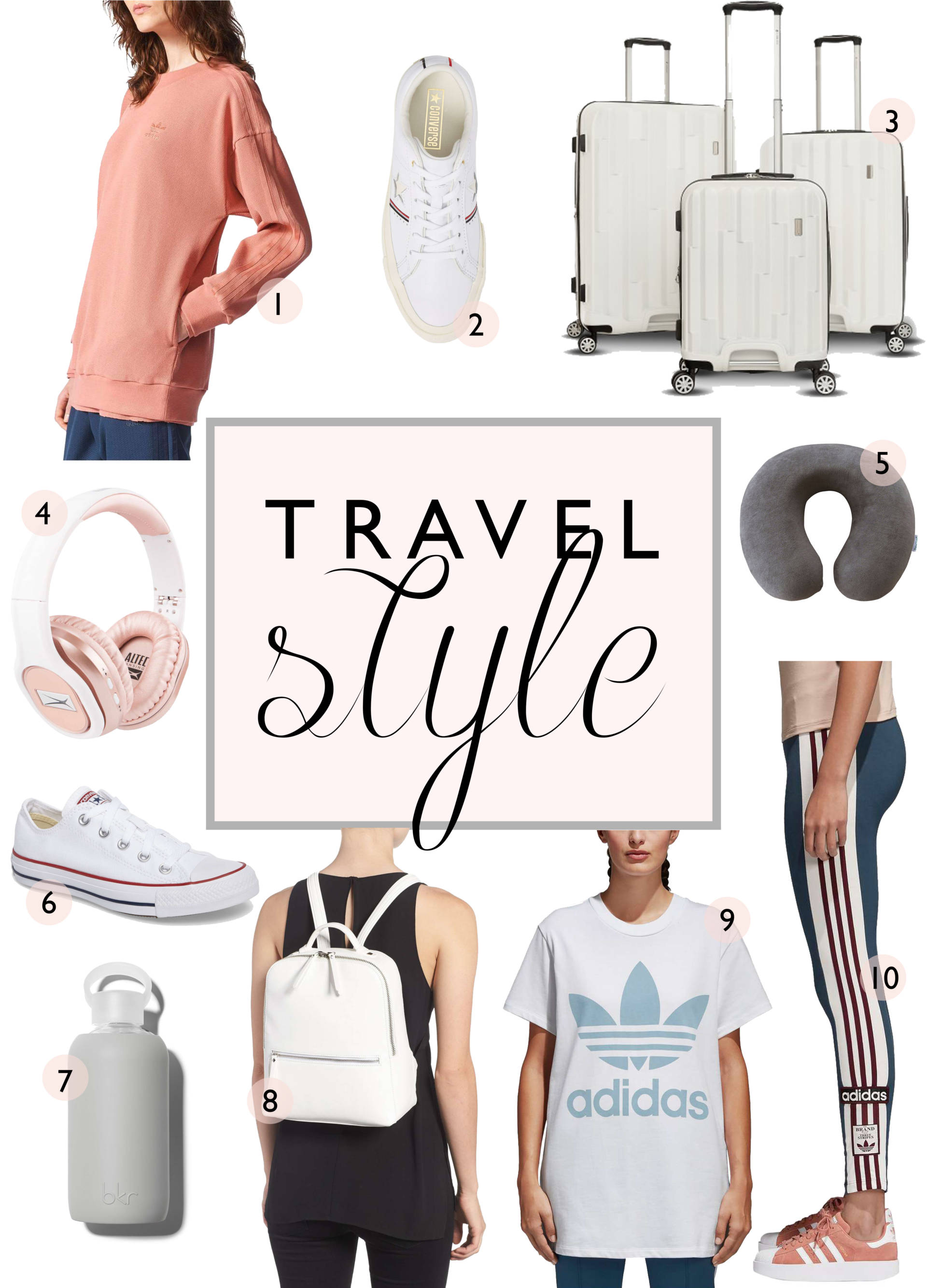 Travel in style at a price you can afford! Sharing key pieces from my wardrobe that I travel in for less than 50.00! No need to break the bank while traveling in style!