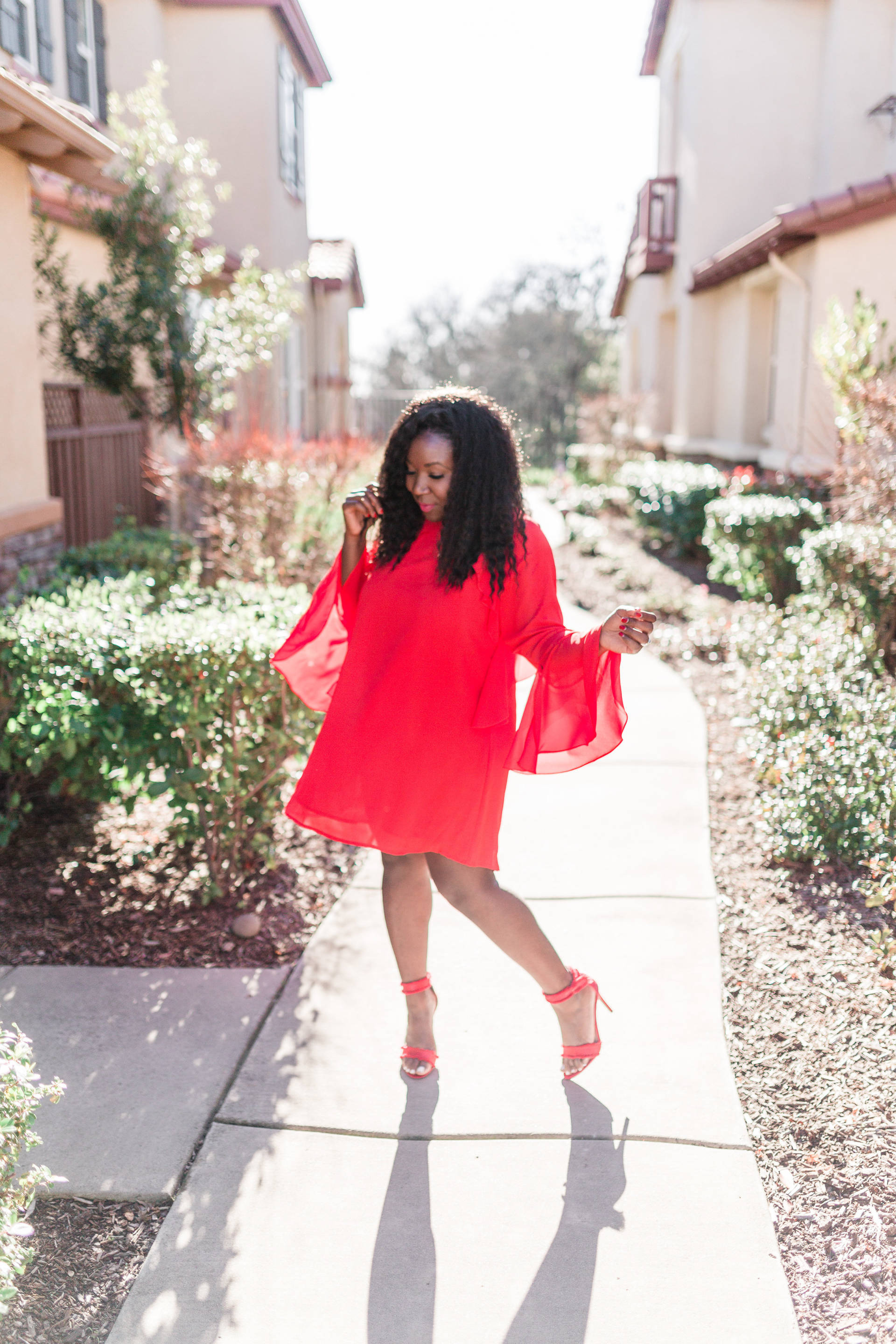 Valentine's Day Outfit Inspiration-The Red Dress: Five Bloggers, Five Ways
