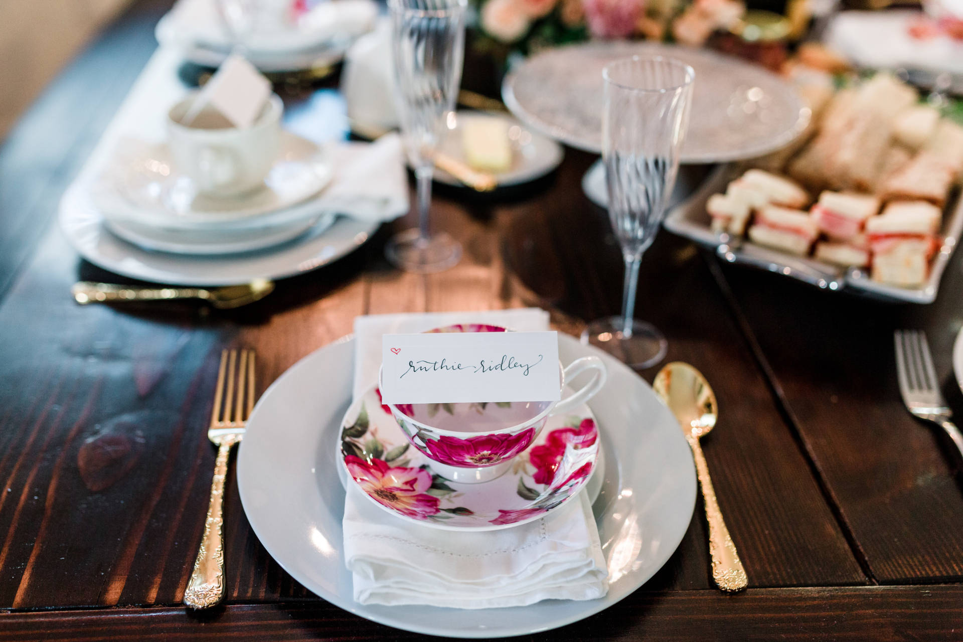 High Tea For Valentine's Day with all of my favorite bloggers!