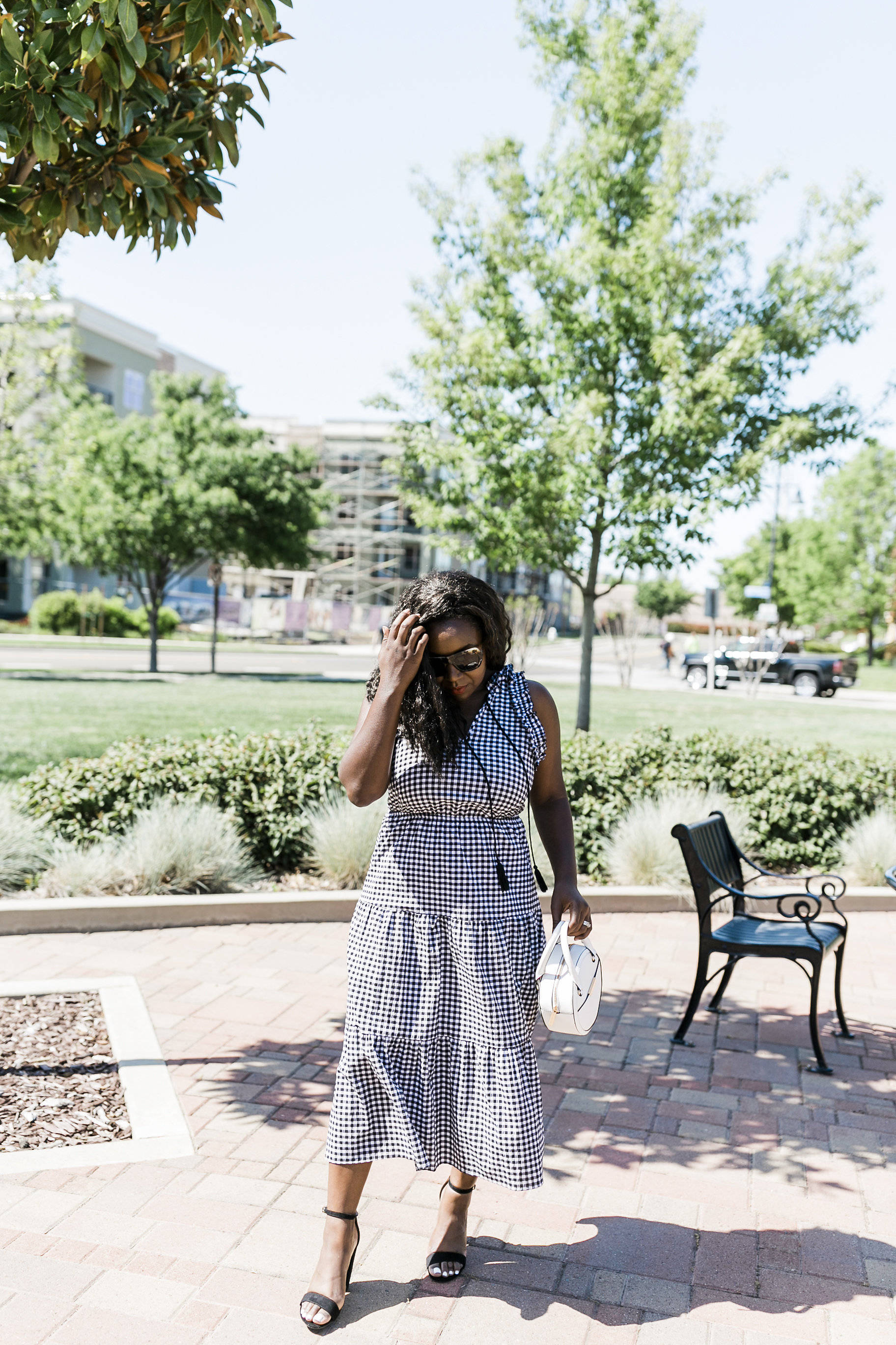 Gingham dresses for Summer and Spring