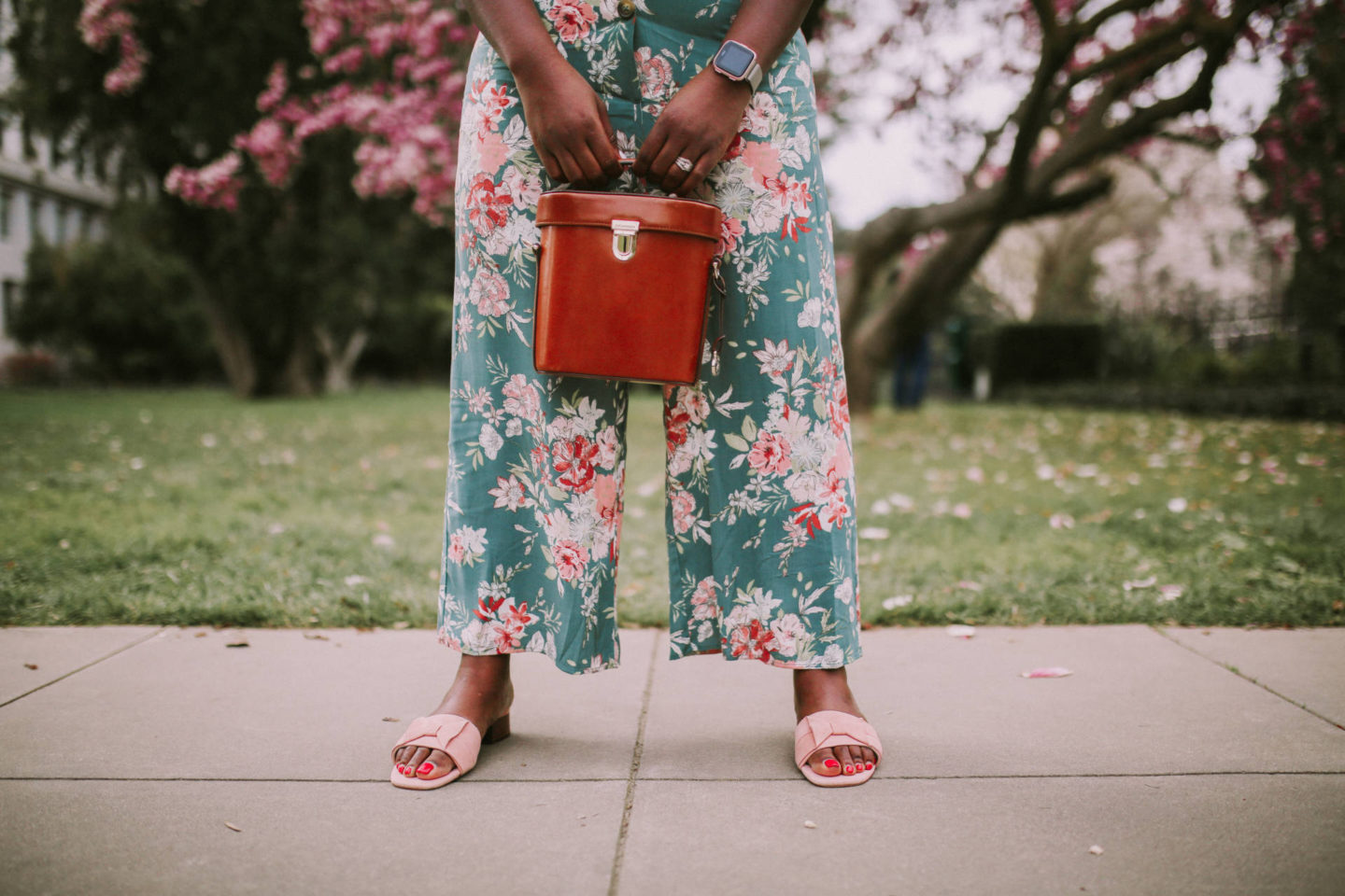 Floral Jumpsuit For Spring